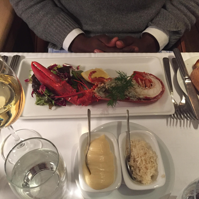 Dinner at Erik's Gondolen, Stockholm – a visual story